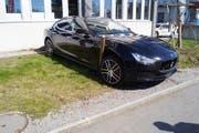 Der Maserati (Bild: Zuger Polizei)
