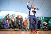 ... spanische Flamencotruppe. (Bild: Philipp Schmidli)