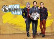 Die Moderatoren von Jeder Rappen zählt 2017 von links: Tina Nägeli, Fabio Nay und Stefan Büsser. (Bild: SRF/Oscar Alessio)