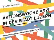 Vom 11. bis 19 Juni steht der kanton Luzern im Zeichen des Themas «Asyl». (Bild: pd)