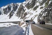 Der Gotthardpass ist seit Freitagmorgen wieder geöffnet. (Bild: Keystone)