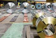Die kanadische Stahlproduktion wäre stark von US-Strafzöllen betroffen. (Bild: James MacDonald/Bloomberg (Hamilton, 13. Januar 2017))