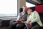 In der 1. Klasse haben die Reisenden mehr Platz – und dies erst noch zum Spezialpreis.