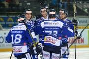 Das Farmteam des HC Ambri-Piotta hilft dem NLA-Team zum Verbleib in der höchsten Schweizer Liga. (Bild: Archiv LZ)
