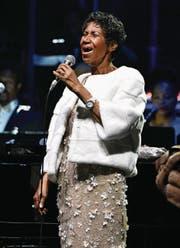 Aretha Franklin. (Bild: Getty)