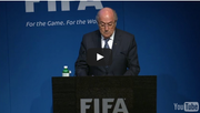 Nach seiner Wiederwahl hat sich Sepp Baltter überraschend für den Rücktritt als Präsident des Weltfussballverbands Fifa entschieden.