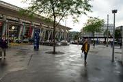 Am Bahnhof Luzern ist seit Ende Oktober eine temporäre Anlage für Luftmessungen installiert. Die Ergebnisse sind bedenklich. (Symbolbild) (Bild: Dominik Wunderli / Neue LZ)
