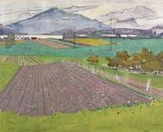 Die posthume Haettenschweiler-Werkschau zeigt die weniger bekannten Arbeiten des Zuger Künstlers. (Bild: Fagagnini Fotografie, Claudia Fagagnini)