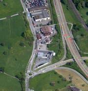 Hier beim Lidli (Bildmitte) ereignete sich der Unfall. (Bild: Maps.google.ch)