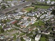 Die heutige Schulanlage Waldegg aus der Luft. (Bild: PD)
