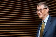 Bill Gates kämpft gegen die von Saint-Gobain geplante Übernahme der Kontrolle über Sika. (Bild: Keystone)