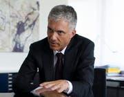 Bundesanwalt Michael Lauber (Bild: Keystone / Gian Ehrenzeller)