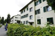 Die 17 Häuser in der Gartenstadt sollen abgerissen werden. (Bild: Werner Schelbert)