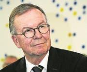 Alt Stadtrat Kurt Bieder, Präsident Stiftung Verkehrshaus: «Wir sind schon etwas enttäuscht.» (Bild: Jakob Ineichen (Neue LZ) (Neue Luzerner Zeitung))
