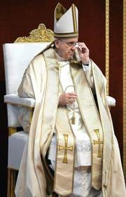 Papst Franziskus hat Richtlinien zum Jahr der Barmherzigkeit bekannt gegeben. (Bild: EPA/Maurizio Brambatti)