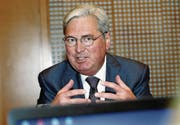 Clariant-CEO Hariolf Kottmann: «Die Fusion ist die beste Option zur Fortführung unserer Erfolgsgeschichte.» (Bild: Siggi Bucher, Keystone)