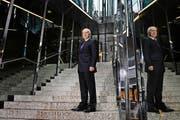 Urs Karli, Inhaber der Hotels Astoria, The Hotel und Renaissance in Luzern, wurde mit dem Lifetime Award ausgezeichnet. (Bild Maria Schmid)