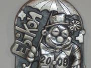 Die Fasnachts-Plakette für Ebikon 2009. (Bild pd)