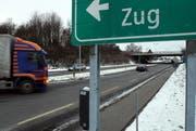Sinserstrasse Richtung Lindencham. (Bild: Christof Borner-Keller/Neue ZZ)