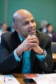 Rupan Sivaganesan politisiert seit 2006 im Zuger Kantonsrat. (Bild: Stefan Kaiser (Zug, 18. Dezember 2014))