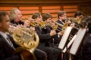 Das Lucerne Festival Orchestra im KKL. (Bild: Lucerne Festival / Priska Ketterer)