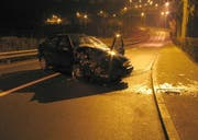 Die Unfallstelle. (Bild Stadtpolizei Luzern)