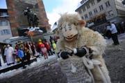 Ein Sujet am Fasnachtsumzug in Altdorf. (Bild: Urs Hanhart (Altdorf, 12. Februar 2018))