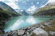 Das Kraftwerk Göschenen nutzt das im Göscheneralpsee gespeicherte Wasser zur Stromproduktion. (Archivbild: Eveline Beerkircher (22. August 2012))