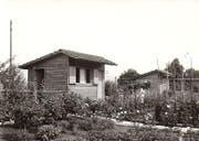 So sah das Areal Rothenweidli um 1969 aus. (Bild: PD)