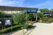 Eingangsbereich des Hotels Vichy Spa in Montpellier. (Bild: SFV / Marco von Ah)