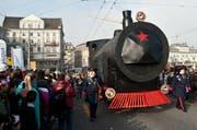 Die «transsibirische Eisenbahn» der Chottlebotzer. (Bild Dominik Wunderli)