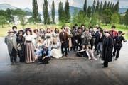 Das Ensemble der diesjährigen Produktion der Freilichtspiele Luzern sind mehrheitlich Laiendarsteller. (Bild: pd)