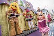 Die Maskenliebhaber Gesellschaft der Stadt Luzern mit dem Motto «Die ganze Welt ist eine Muppet Show». (Bild: Philipp Schmidli)