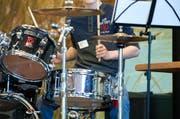 Welche Rolle spielt das Schlagzeug für den Groove eines Songs? Forscher der Hochschule Luzern gehen dieser Frage in einem Projekt auf den Grund. (Archivbild Boris Bürgisser)