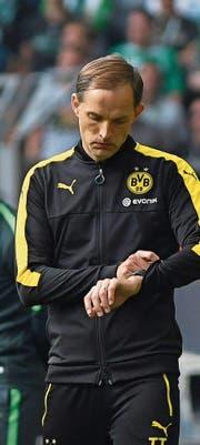 BVB-Trainer Thomas Tuchel. (Bild: David Hecker/EPA (Dortmund, 20. Mai 2017))