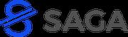 Das Logo der Saga-Stiftung mit Sitz in Zug.