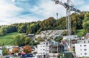 Überbauung von Eigentumswohnungen in Malters. (Bild: Roger Grütter (Malters, 10. Oktober 2017))
