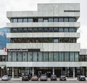 Erfreulicher Geschäftsgang 2017 für die Schwyzer Kantonalbank. (Bild: Alexandra Wey/Key (Schwyz, 12. Mai 2017))