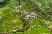 Das beschauliche Dorf Allenwinden soll während gut drei Jahren viel Verkehr schlucken müssen. (Bild: Andreas Busslinger)