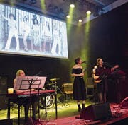 In der Zwischenbühne gab es am Samstag eine musikalische Hommage an die Boy- und Girlgroups der Neunzigerjahre. (Bild: Eveline Beerkircher (Horw, 10. März 2018))