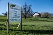 Der Bauernhof Grämlis in Horw. (Bild: Boris Bürgisser)