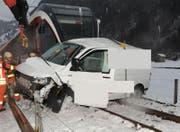 Dieser Unfall bei Wolfenschiessen ging im letzten Jahr tödlich aus. (Bild: Kapo Nidwalden)