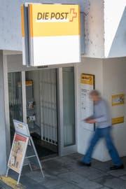 Die Poststelle in Sachseln an der Brünigstrasse 101. (Bild: Christoph Riebli (Sachseln, 30. März 2017))