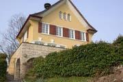 Dieses Haus am Eichweg 3 in Meggen wurde am 22. Januar 2008 ohne Bewilligung abgerissen.