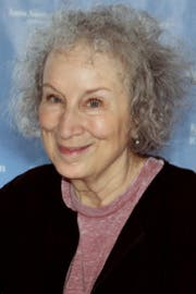 Margaret Atwood am Texas Book Festival im Jahr 2015. (Bild: wikipedia.org/Larry D. Moore)