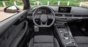 Blick in den Audi S5 mit digitalisiertem Anzeigepanel. (Bild: pd)