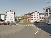 Der Unfall ereignete sich in der Nähe des Kreisels Grossmatte – Luzernerstrasse in Littau (Bild: Google Maps)