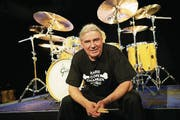 Schlagzeuger Fredy Studer. (Bild: Ben Huggler)