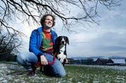 Auf dem Land von Michael Werder sind die neuen Hundeausbildungsplätze geplant. (Archivbild Stefan Kaiser / Neue ZZ)