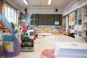 Die Schule in Finstersee leidet unter Schülermangel – jetzt droht die Schliessung. (Bild: Maria Schmid (Menzingen, 4. Mai 2016))
